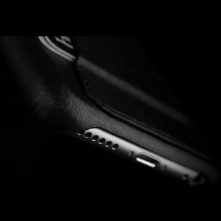 【iPhone6ケース】ウォレットレザーケース MUJJO ブラック 80度ポケット iPhone 6_3