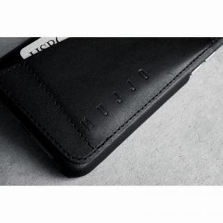 【iPhone6ケース】ウォレットレザーケース MUJJO ブラック 80度ポケット iPhone 6_6