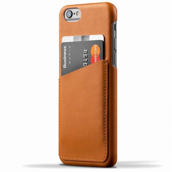 【iPhone6s/6ケース】ウォレットレザーケース MUJJO ブラウン iPhone 6s/6_0