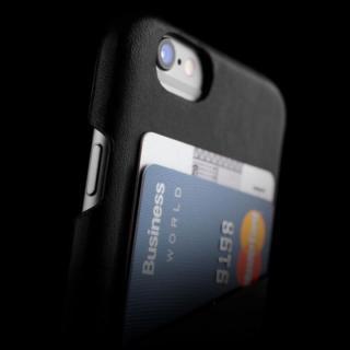【iPhone6ケース】ウォレットレザーケース MUJJO ブラック iPhone 6_2