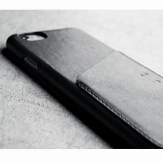 【iPhone6ケース】ウォレットレザーケース MUJJO ブラック iPhone 6_6
