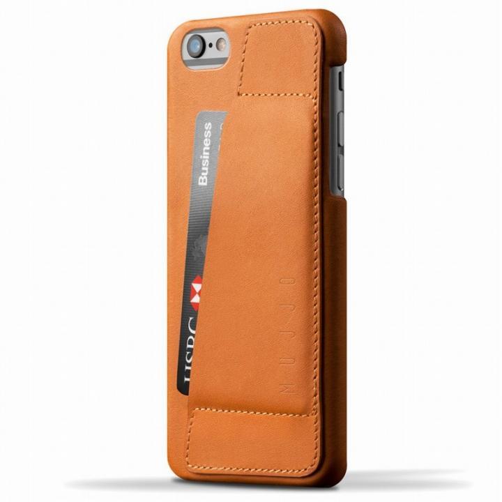ウォレットレザーケース MUJJO ブラウン 80度ポケット iPhone 6