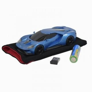 無線マウス 2.4G フォードGT ブルー_2