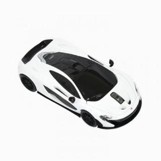 [2018年新春特価]無線マウス 2.4G マクラーレン P1 ホワイト