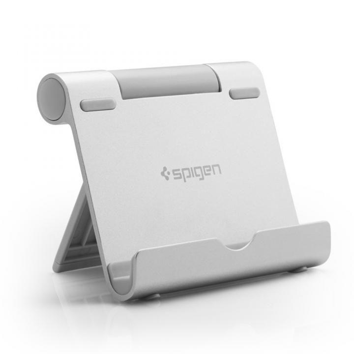 Spigen アルミニウム タブレットスタンド S320 シルバー_0