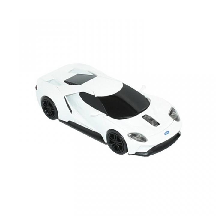 [2018年新春特価]無線マウス 2.4G フォードGT ホワイト