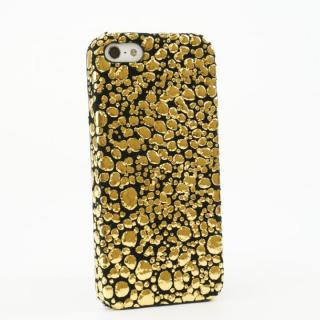 iPhone SE/5s/5 ケース OMNES iPhone5 Case gold x black