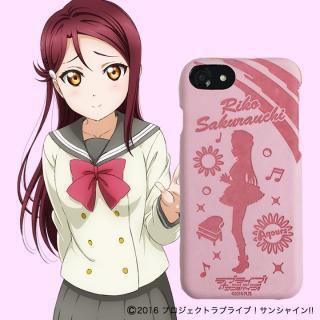 ラブライブ!サンシャイン!! レザーケース for iPhone 7 / 6s / 6 桜内 梨子 ver
