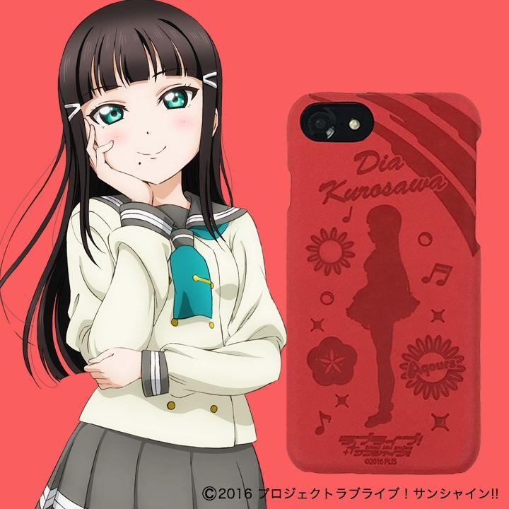 iPhone8/6/7/6s ケース ラブライブ!サンシャイン!! レザーケース for iPhone 8 / 7 / 6s / 6 黒澤 ダイヤ ver_0