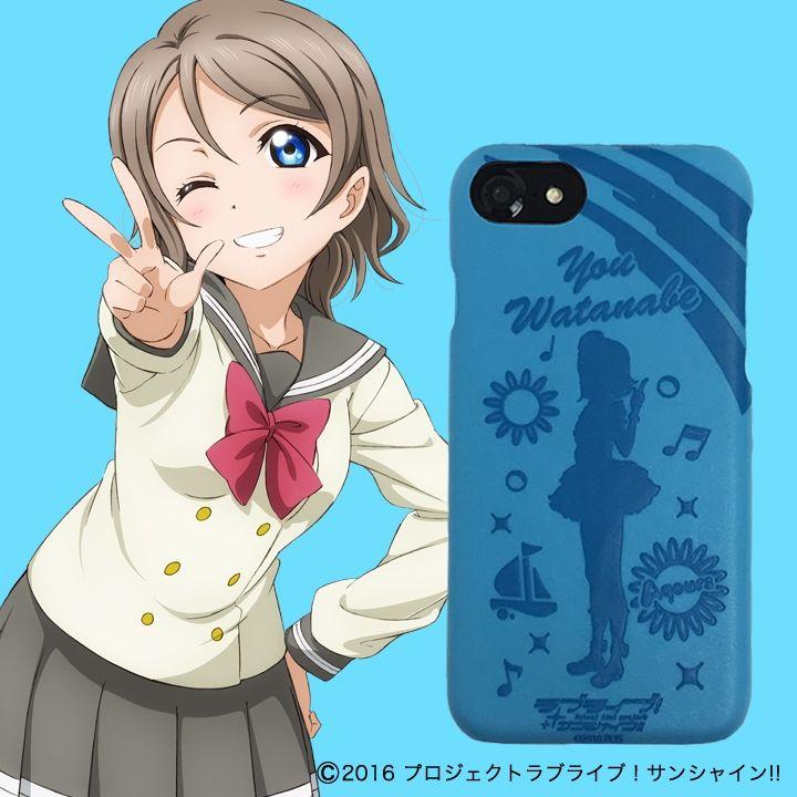 iPhone8/6/7/6s ケース ラブライブ!サンシャイン!! レザーケース for iPhone 8 / 7 / 6s / 6 渡辺 曜 ver_0