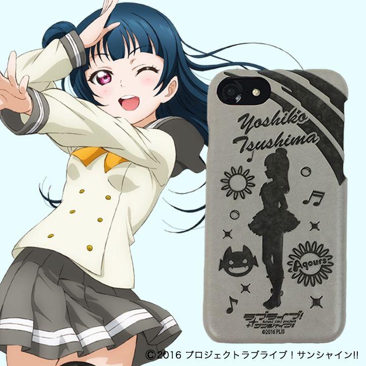 iPhone8/6/7/6s ケース ラブライブ!サンシャイン!! レザーケース for iPhone 8 / 7 / 6s / 6 津島 善子 ver_0