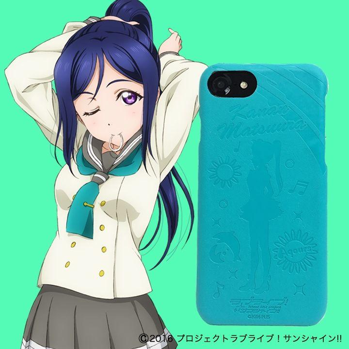 iPhone8/6/7/6s ケース ラブライブ!サンシャイン!! レザーケース for iPhone 8 / 7 / 6s / 6 松浦 果南 ver_0