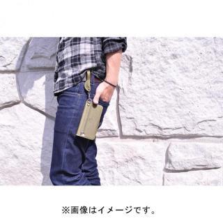【iPhone6ケース】栃木レザー手帳型左開きケース HUKURO オレンジ iPhone 6_7