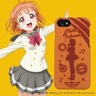 ラブライブ!サンシャイン!! レザーケース for iPhone 8 / 7 / 6s / 6 高海 千歌 ver
