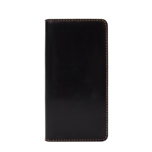 【iPhone6s/6ケース】LAYBLOCK Tuscany Belly トスカーナレザー手帳型ケース  ブラック iPhone 6s/6_0