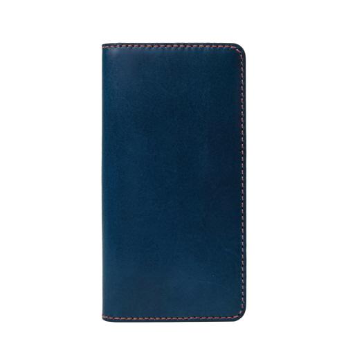 Tuscany Belly レザー手帳型ケース ネイビー iPhone 6s/6