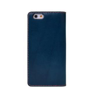 【iPhone6s/6ケース】LAYBLOCK Tuscany Belly トスカーナレザー手帳型ケース  ネイビー iPhone 6s/6_1