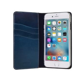 【iPhone6s/6ケース】LAYBLOCK Tuscany Belly トスカーナレザー手帳型ケース  ネイビー iPhone 6s/6_2