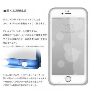 【iPhone6s/6ケース】薄い防水ケース カード1枚収納可能 JEMGUN Passport クリア iPhone 6s/6_4