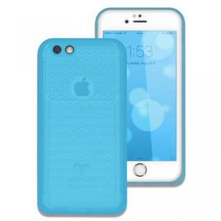 薄い防水ケース カード1枚収納可能 JEMGUN Passport クリアブルー iPhone 6s/6
