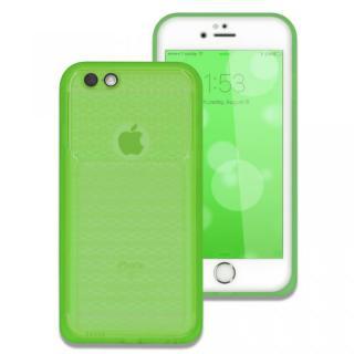 iPhone6s/6 ケース 薄い防水ケース カード1枚収納可能 JEMGUN Passport クリアグリーン iPhone 6s/6