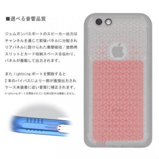 【iPhone6s/6ケース】薄い防水ケース カード1枚収納可能 JEMGUN Passport クリアグリーン iPhone 6s/6_3