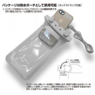 【iPhone6s/6ケース】薄い防水ケース カード1枚収納可能 JEMGUN Passport クリアグリーン iPhone 6s/6_6