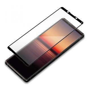 3Dハイブリッド液晶保護ガラス 貼り付けキット付き スーパークリア Xperia 1用