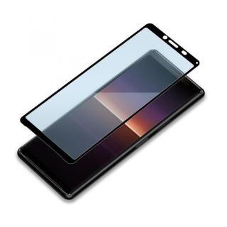 3Dハイブリッド液晶保護ガラス 貼り付けキット付き ブルーライト低減/光沢 Xperia 10用【10月中旬】
