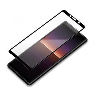 3Dハイブリッド液晶保護ガラス 貼り付けキット付き スーパークリア Xperia 10用