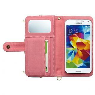 【iPhone SE/6/6 Plusケース】iDress GAMACO がま口ポケット付き手帳型ケース フラワー 多機種(iPhone/Android)対応_4
