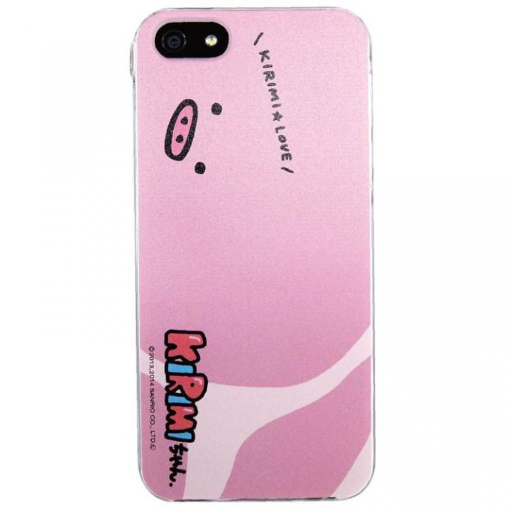 【iPhone SE/5s/5ケース】KIRIMIちゃん iPhone SE/5s/5対応シェルジャケット ロース_0