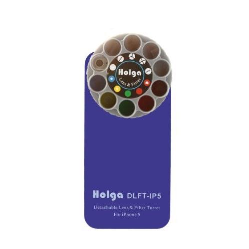 iPhone SE/5s/5 ケース HOLGAアートエフェクター iPhone5 ブルー_0