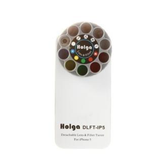 【iPhone SE/5s/5ケース】HOLGAアートエフェクター iPhone5 ホワイト
