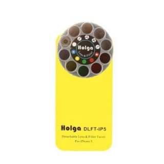 【iPhone SE/5s/5ケース】HOLGAアートエフェクター iPhone5 イエロー