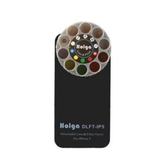 【iPhone SE/5s/5ケース】HOLGAアートエフェクター iPhone5 ブラック