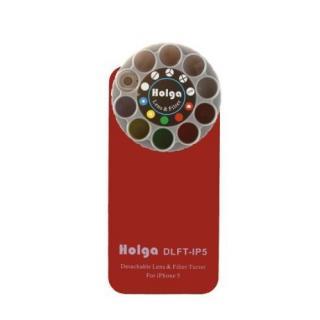 【iPhone SE/5s/5ケース】HOLGAアートエフェクター iPhone5 レッド