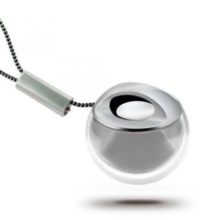 小型Bluetooth スピーカー Crystal Q シルバー