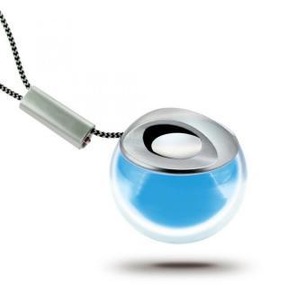 小型Bluetooth スピーカー Crystal Q ブルー