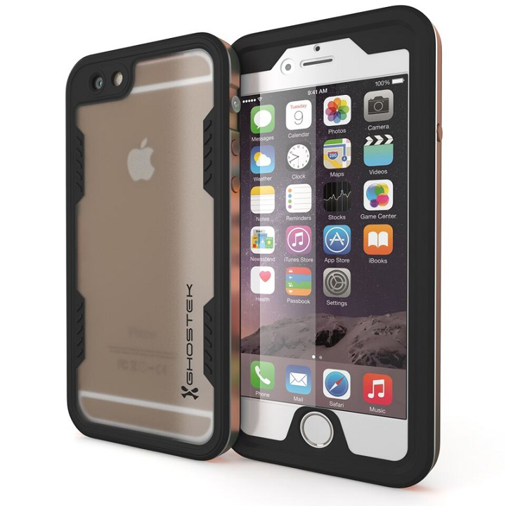 iPhone6s/6 ケース 防水/耐衝撃アルミケース Ghostek Atomic 2.0 ゴールド iPhone 6s/6_0