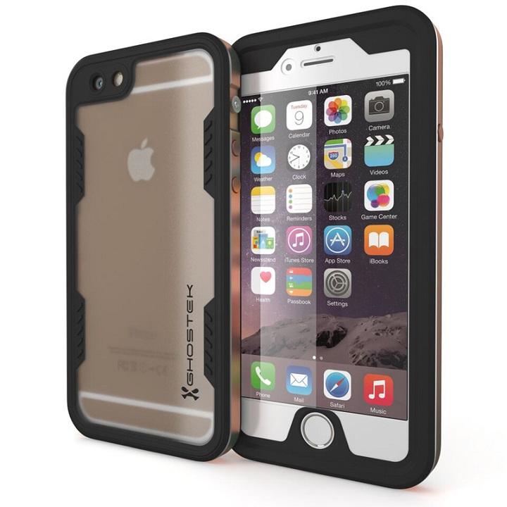 【iPhone6s/6ケース】防水/耐衝撃アルミケース Ghostek Atomic 2.0 ゴールド iPhone 6s/6_0
