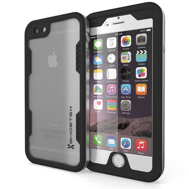 iPhone6s/6 ケース 防水/耐衝撃アルミケース Ghostek Atomic 2.0 シルバー iPhone 6s/6_0
