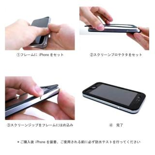 【iPhone6s/6ケース】防水/耐衝撃アルミケース Ghostek Atomic 2.0 シルバー iPhone 6s/6_4