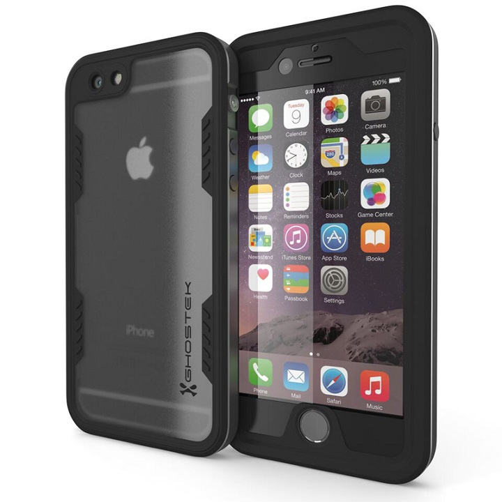 iPhone6s/6 ケース 防水/耐衝撃アルミケース Ghostek Atomic 2.0 グレイ iPhone 6s/6_0