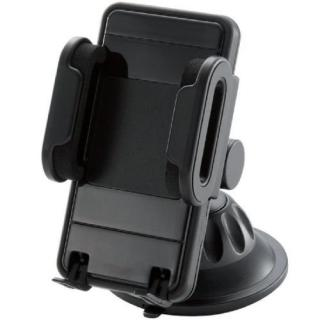 ELECOM スマートフォン用車載ホルダー ホルダーのみ ブラック_1