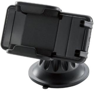 ELECOM スマートフォン用車載ホルダー ホルダーのみ ブラック_2