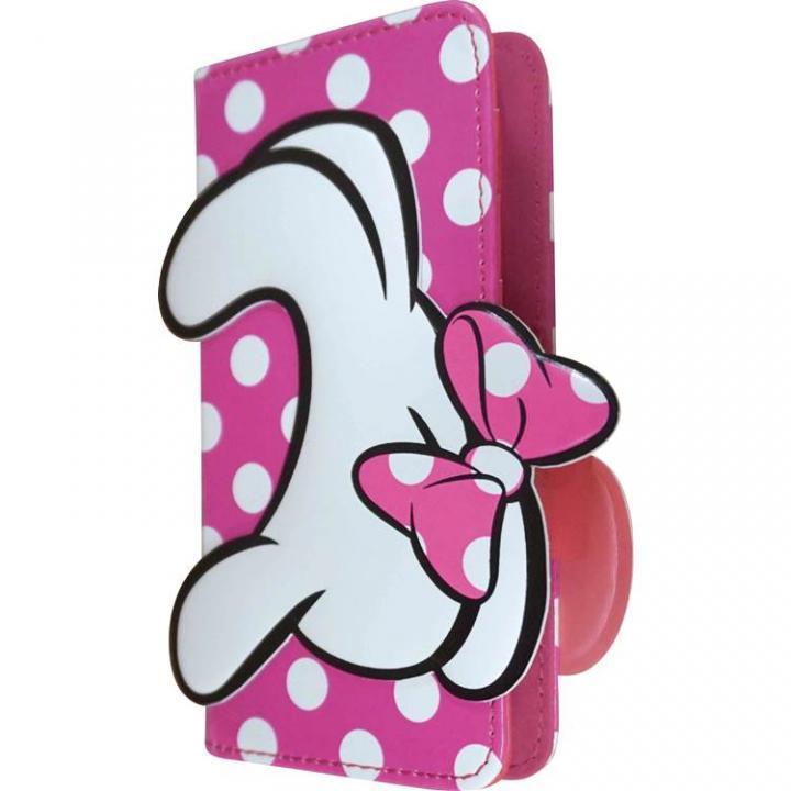 iPhone6/SE/5s/5 ケース ディズニー Love Love! 手帳型ケース ビビッドピンク 多機種(iPhone/Android)対応_0
