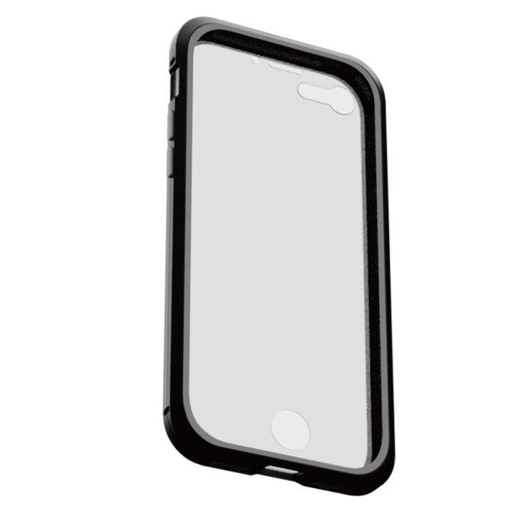 iPhone8/7 ケース アルミバンパー 360STRONG ブラック iPhone 8/7_0