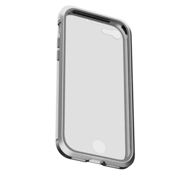 iPhone8/7 ケース アルミバンパー 360STRONG シルバー iPhone 8/7_0