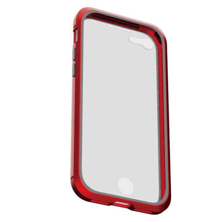 iPhone8/7 ケース アルミバンパー 360STRONG レッド iPhone 8/7_0